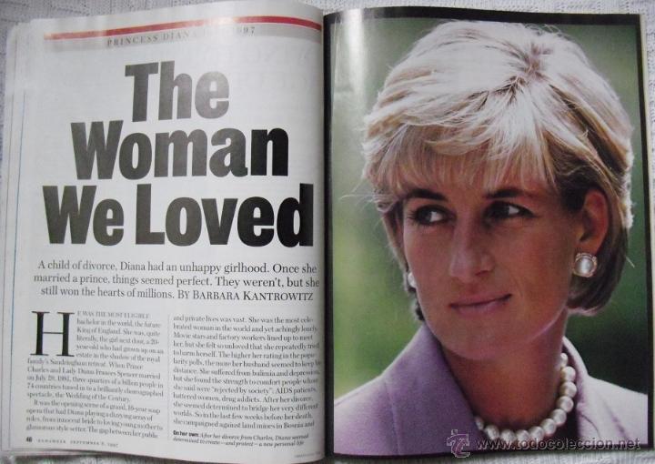 Coleccionismo de Revistas y Periódicos: Revista Newsweek - Lady Di - Muerte de Diana, Princesa de Gales (1997) - Foto 5 - 54068348