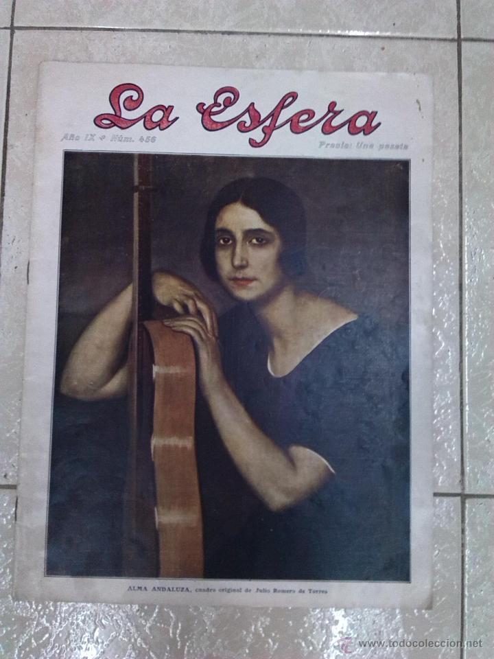 REVISTA LA ESFERA (Coleccionismo - Revistas y Periódicos Antiguos (hasta 1.939))