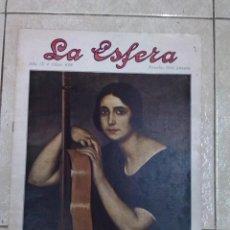 Coleccionismo de Revistas y Periódicos: REVISTA LA ESFERA. Lote 54071919