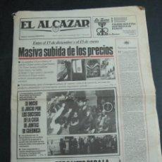Coleccionismo de Revistas y Periódicos: PERIDICO EL ALCAZAR 23 DE NOVIEMBRE 1983. Lote 54084489