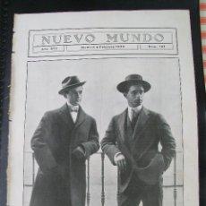 Coleccionismo de Revistas y Periódicos: BOMBITA Y MACHAQUITO HOJA REVISTA NUEVO MUNDO 1909. Lote 54121350