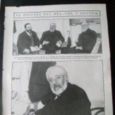 Coleccionismo de Revistas y Periódicos: REPUBLICANOS SOL Y ORTEGA, EL DIRECTOR DE EL PAÍS: ROBERTO CASTROVIDO Y RICARDO LUPIANI 1909 . Lote 54141659