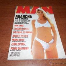 Coleccionismo de Revistas y Periódicos: REVISTA MAN AGOSTO 1992 Nº 58 ARANCHA DE BENITO. Lote 54150021