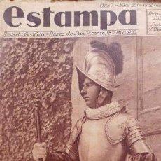 Coleccionismo de Revistas y Periódicos: ESTAMPA. Nº 361. 15 DICIEMBRE 1934. WALT DISNEY. ALVAREZ QUINTERO.REVOLUCIÓN DE OCTUBRE DE ASTURIAS. Lote 54150255