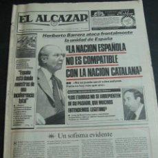 Coleccionismo de Revistas y Periódicos: EL ALCAZAR. 13 DE MARZO 1983. DONDE SE PROFETIZA GRAN EXITO DE REMEDIOS AMAYA EN EUROVISION. Lote 54166882