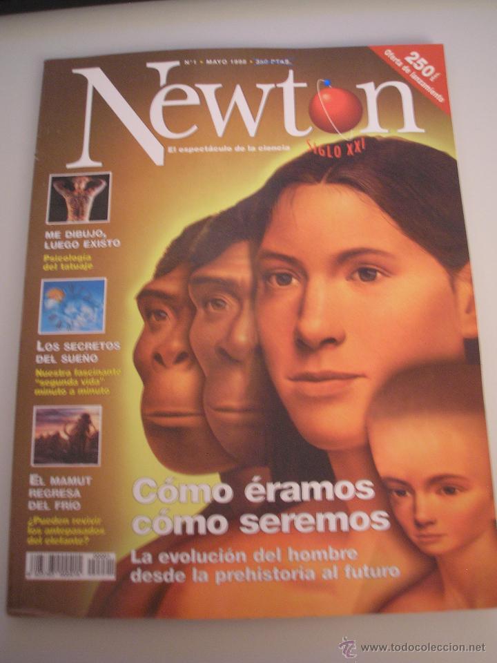 NEWTON - REVISTA MENSUAL DE CIENCIA Y CULTURA - AÑO 1 - Nº 1 MAYO 1998 (Coleccionismo - Revistas y Periódicos Modernos (a partir de 1.940) - Otros)