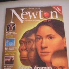 Coleccionismo de Revistas y Periódicos: NEWTON - REVISTA MENSUAL DE CIENCIA Y CULTURA - AÑO 1 - Nº 1 MAYO 1998 . Lote 54192820