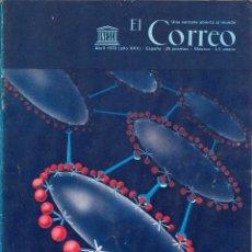 Coleccionismo de Revistas y Periódicos: EL CORREO. UNESCO ABRIL 1972. EN EL CORAZÓN LATE LA SALUD.. Lote 54252800