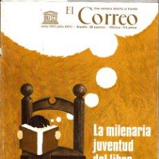 Coleccionismo de Revistas y Periódicos: EL CORREO. UNESCO JULIO 1972. LA MILENARIA JUVENTUD DEL LIBRO.. Lote 54252896