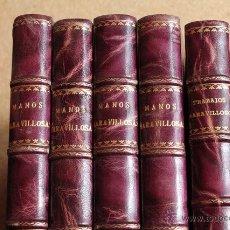 Coleccionismo de Revistas y Periódicos: MANOS MARAVILLOSAS. TRABAJOS MARAVILLOSOS. MADRID, SARPE, 1971.. Lote 54381718
