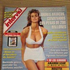Coleccionismo de Revistas y Periódicos: REVISTA INTERVIU ANGELA ELLE MACPHERSON AMANDA LEAR JOSE SACRISTAN. Lote 54415268