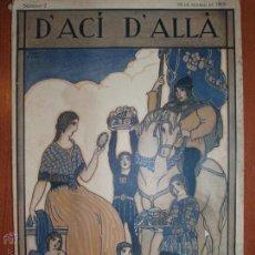 Coleccionismo de Revistas y Periódicos: REVISTA D'ACÍ D'ALLÀ. MAGAZINE MENSUAL. VOL. 1, NÚM. 2. 10 FEBRER DE 1918.. Lote 54423173
