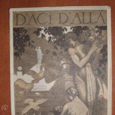 Coleccionismo de Revistas y Periódicos: REVISTA D'ACÍ D'ALLÀ. MAGAZINE MENSUAL. VOL. 1, NÚM. 5. 10 MAIG DE 1918.. Lote 54423234