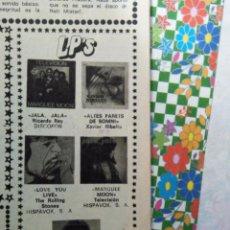 Coleccionismo de Revistas y Periódicos: RECORTE THE ROLLING STONE STONES. Lote 54424409