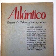 Coleccionismo de Revistas y Periódicos: ATLANTICO . 1959 NUM 12. REVISTA DE CULTURA CONTEMPORANEA. Lote 54432958