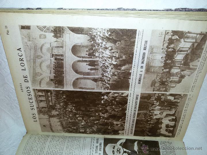 Coleccionismo de Revistas y Periódicos: AHORA-DIARIO GRÁFICO-17 NÚMEROS ENCUADERNADOS-AÑO 1931 - Foto 10 - 54437532