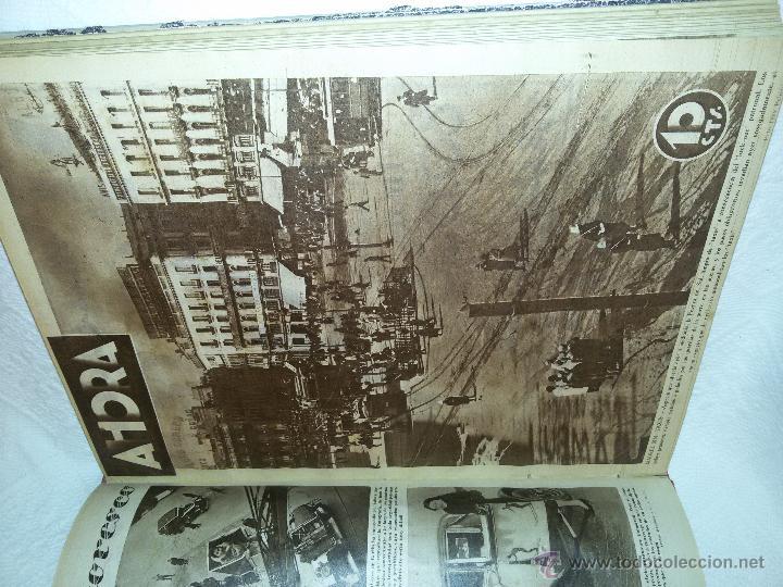 Coleccionismo de Revistas y Periódicos: AHORA-DIARIO GRÁFICO-17 NÚMEROS ENCUADERNADOS-AÑO 1931 - Foto 12 - 54437532