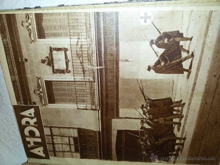 Coleccionismo de Revistas y Periódicos: AHORA-DIARIO GRÁFICO-17 NÚMEROS ENCUADERNADOS-AÑO 1931 - Foto 15 - 54437532