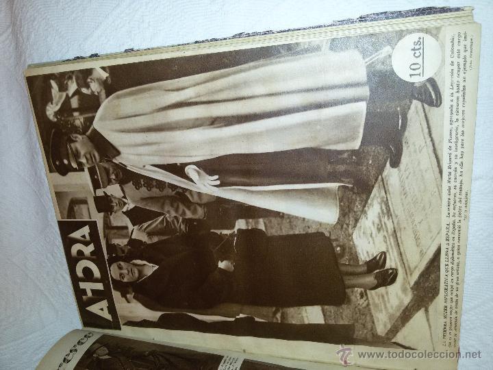 Coleccionismo de Revistas y Periódicos: AHORA-DIARIO GRÁFICO-17 NÚMEROS ENCUADERNADOS-AÑO 1931 - Foto 16 - 54437532