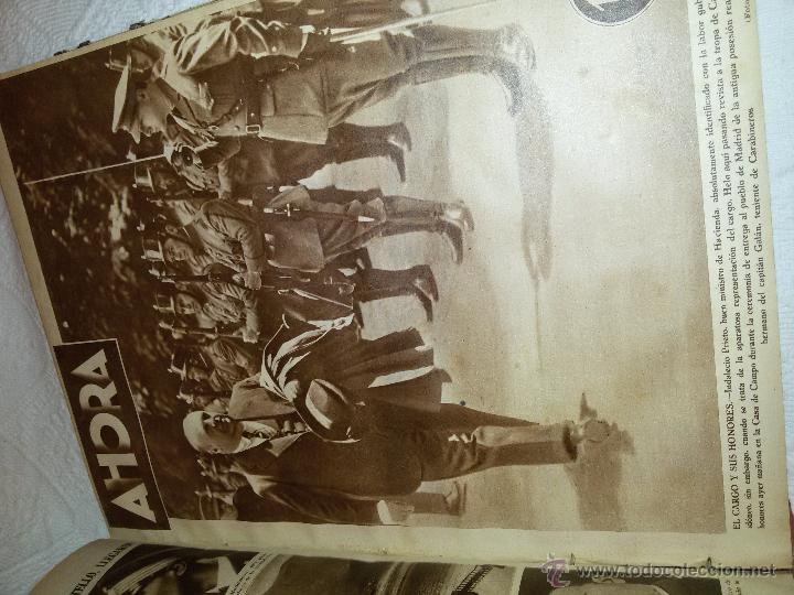 Coleccionismo de Revistas y Periódicos: AHORA-DIARIO GRÁFICO-17 NÚMEROS ENCUADERNADOS-AÑO 1931 - Foto 17 - 54437532