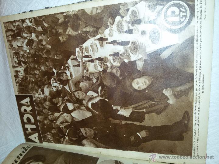 Coleccionismo de Revistas y Periódicos: AHORA-DIARIO GRÁFICO-17 NÚMEROS ENCUADERNADOS-AÑO 1931 - Foto 18 - 54437532
