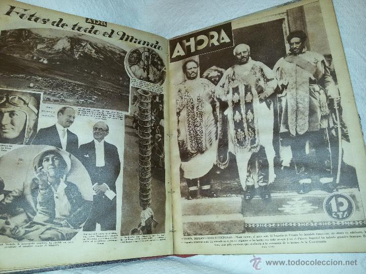 Coleccionismo de Revistas y Periódicos: AHORA-DIARIO GRÁFICO-17 NÚMEROS ENCUADERNADOS-AÑO 1931 - Foto 20 - 54437532