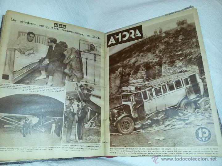 Coleccionismo de Revistas y Periódicos: AHORA-DIARIO GRÁFICO-17 NÚMEROS ENCUADERNADOS-AÑO 1931 - Foto 21 - 54437532
