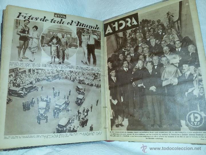 Coleccionismo de Revistas y Periódicos: AHORA-DIARIO GRÁFICO-17 NÚMEROS ENCUADERNADOS-AÑO 1931 - Foto 22 - 54437532