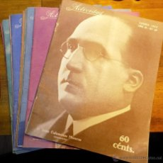 Coleccionismo de Revistas y Periódicos: LOTE REVISTAS 1933,ACTIVIDAD, 12 NUMEROS AÑO COMPLETO. Lote 54447160