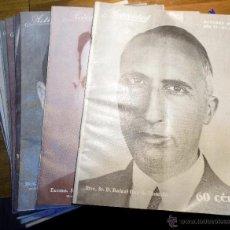 Coleccionismo de Revistas y Periódicos: LOTE REVISTAS 1930,ACTIVIDAD, 11 NUMEROS FALTA NOVIEMBRE. Lote 54447182