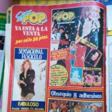 Coleccionismo de Revistas y Periódicos: RECORTE SUPER POP PECOS BEE GEES RICHARD CLAYDERMAN ROD STEWART. Lote 54456639