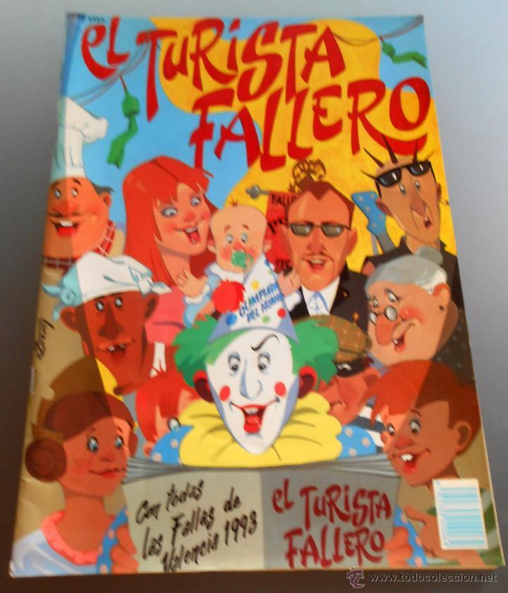 EL TURISTA FALLERO 1993 (Coleccionismo - Revistas y Periódicos Modernos (a partir de 1.940) - Otros)