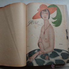 Coleccionismo de Revistas y Periódicos: REVISTA FLIRT.AÑO 1922.46 REVISTAS ENCUADERNADAS.-343. Lote 54569118