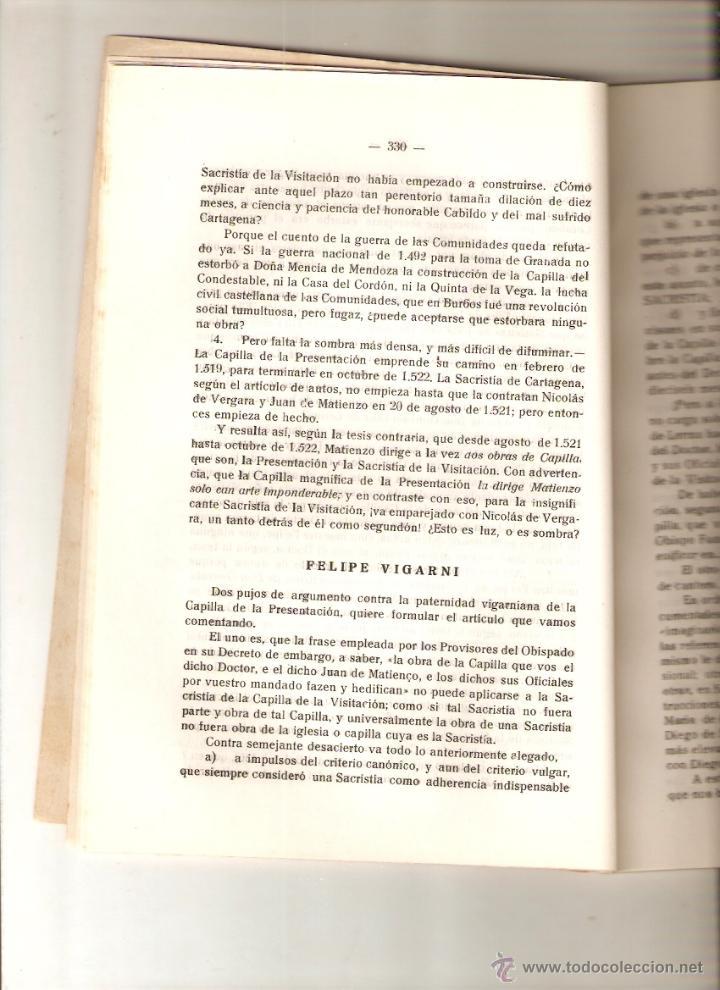 Coleccionismo de Revistas y Periódicos: AÑO 1956 HISTORIA VALDEARNEDO BRIVIESCA BURGOS CAPILLA PRESENTACION FELIPE VIGARNI ROMANICO BURGALES - Foto 4 - 54576647