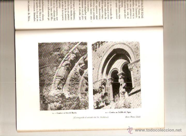 Coleccionismo de Revistas y Periódicos: AÑO 1956 HISTORIA VALDEARNEDO BRIVIESCA BURGOS CAPILLA PRESENTACION FELIPE VIGARNI ROMANICO BURGALES - Foto 5 - 54576647