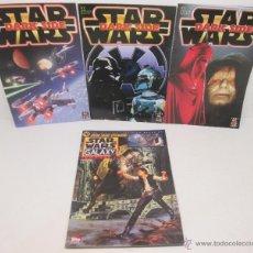 Coleccionismo de Revistas y Periódicos: LOTE 4 REVISTAS MAGAZINE, STAR WARS DARK SIDE Nº 1-2-3 + STAR WARS GALAXY Nº 10. Lote 54580979