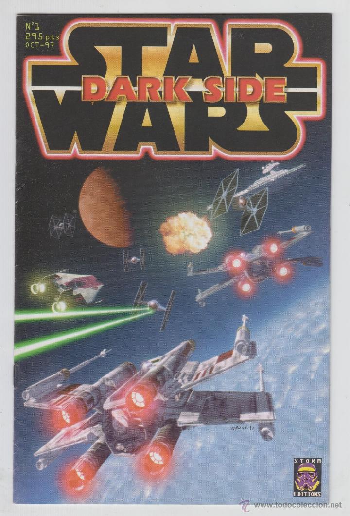 REVISTA MAGAZINE, STAR WARS DARK SIDE Nº 1 OCT-1997 (Coleccionismo - Revistas y Periódicos Modernos (a partir de 1.940) - Otros)