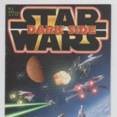 Coleccionismo de Revistas y Periódicos: REVISTA MAGAZINE, STAR WARS DARK SIDE Nº 1 OCT-1997. Lote 54581010