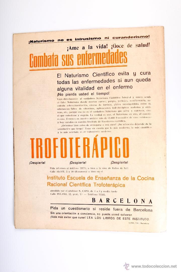 Coleccionismo de Revistas y Periódicos: PENTALFA NATURISMO INTEGRAL AÑO XI Nº 240 NOVIEMBRE DE 1936 - Foto 4 - 54608302