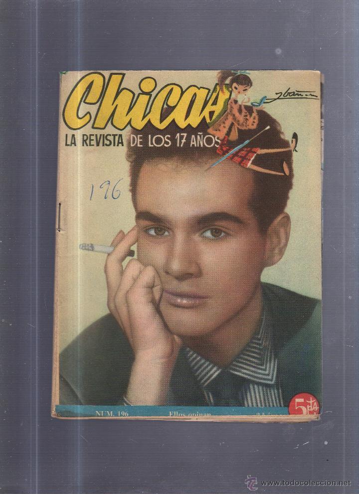 REVISTA DE LOS 17 AÑOS. CHICAS. Nº 196 (Coleccionismo - Revistas y Periódicos Modernos (a partir de 1.940) - Otros)