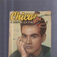 Coleccionismo de Revistas y Periódicos: REVISTA DE LOS 17 AÑOS. CHICAS. Nº 196. Lote 54624158