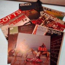 Coleccionismo de Revistas y Periódicos: INTERESANTE LOTE DE 7 REVISTAS VARIADAS - DIFERENTES TEMÁTICAS - . Lote 54654151