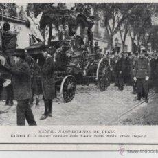 Coleccionismo de Revistas y Periódicos: * MADRID * ENTIERRO DE D. EMILIA PARDO BAZÁN - 1921. Lote 54660364
