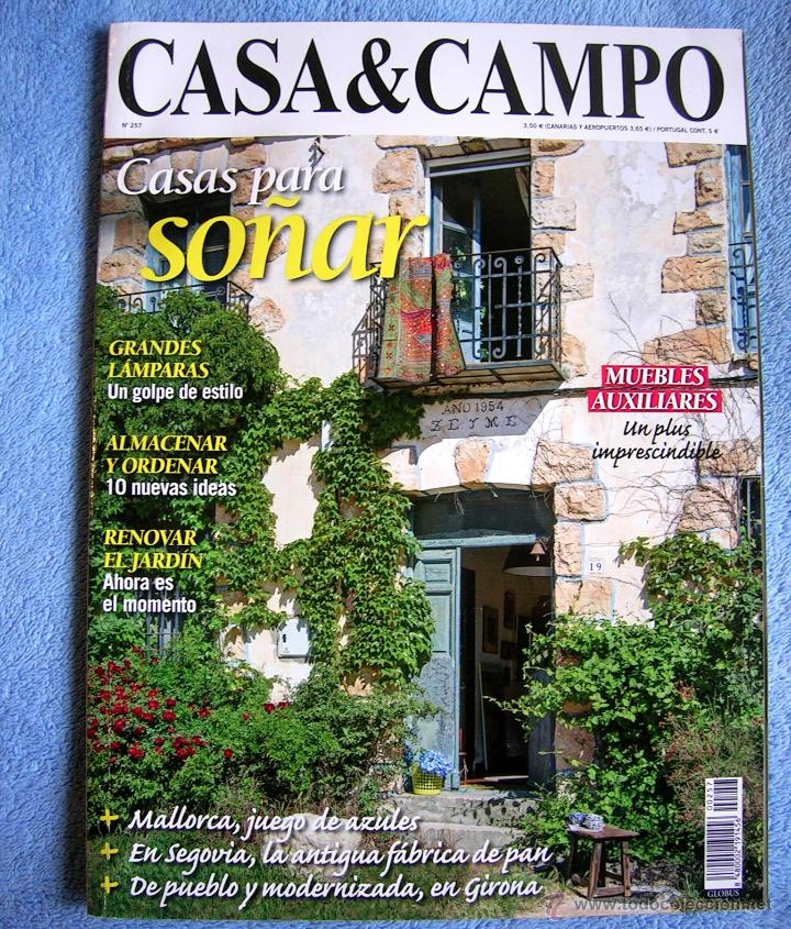 Revista casa campo n m 257 casa para so ar comprar for Casa jardin revista