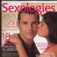 Coleccionismo de Revistas y Periódicos: REVISTA SEXOLOGIES N 1 - JESUS VAZQUEZ Y LUCIA EYXEBARRIA ------(REF M1 E4). Lote 54699471