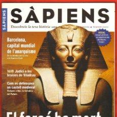 Coleccionismo de Revistas y Periódicos: REVISTA SAPIENS Nº 4 FEBRER 2003 - EL FARAO HA MORT. Lote 54713049