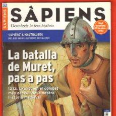 Coleccionismo de Revistas y Periódicos: REVISTA SAPIENS Nº 32 JUNY 2005 - LA BATALLA DE MURET PAS A PAS. Lote 54726433