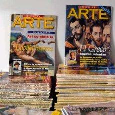 Coleccionismo de Revistas y Periódicos: LOTE REVISTA DESCUBRIR EL ARTE (94 EJEMPLARES). Lote 120264070