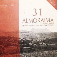 Coleccionismo de Revistas y Periódicos: ALMORAIMA, Nº 31. REVISTA DE ESTUDIOS CAMPOGIBRALTAREÑOS. (EN CD. EDICIÓN DIGITAL). . Lote 54734150