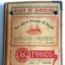 Coleccionismo de Revistas y Periódicos: DIARIO DE BARCELONA DEL DIA 1 DE AGOSTO DE 1903.. Lote 54767106
